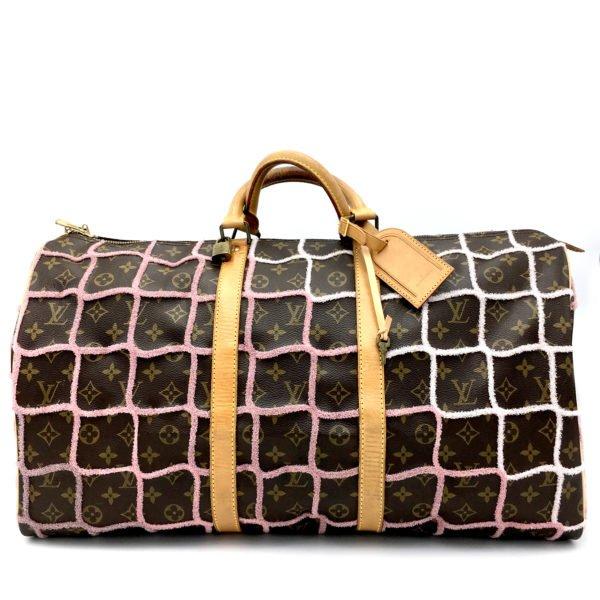 borsa-louis-vuitton-keepall-vintage-custom-made