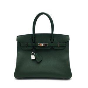 borsa-hermès-birkin30-verde-usata