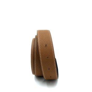 cintura-hermès-marrone-gold-usata