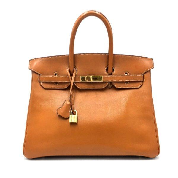 borsa-hermès-birkin-35-vintage-gold-usata